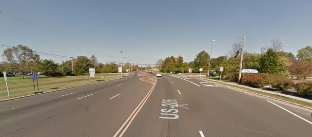 Route 206 in Hammonton