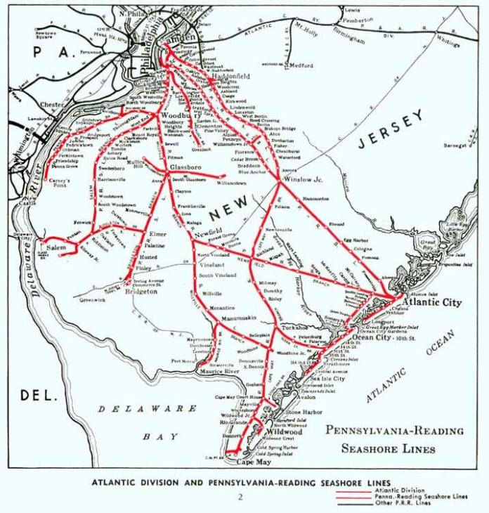 Pennsylvania-Reading Seashore Lines
