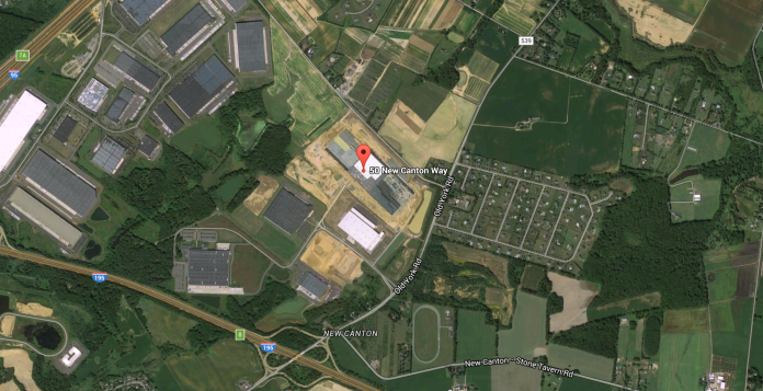 The Amazon fulfillment center in Robbinsville is the definition of sprawling, car-dependent development.