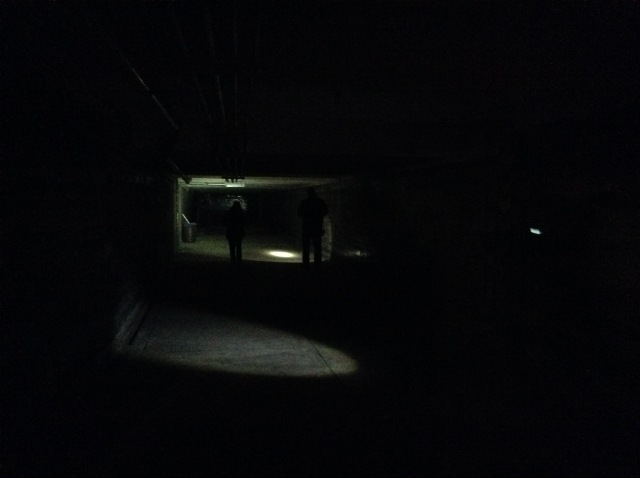 It's a pretty long tunnel.